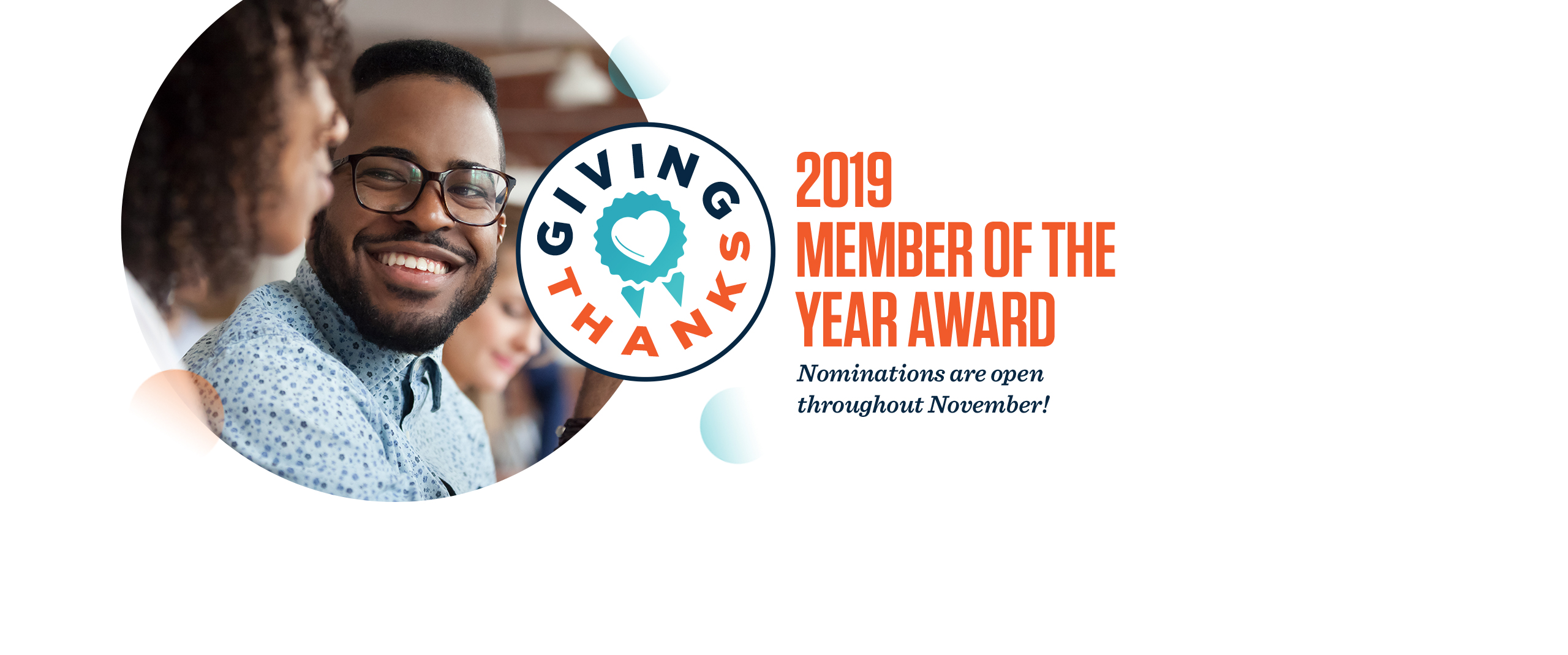 Member of the Year Nominations Banner